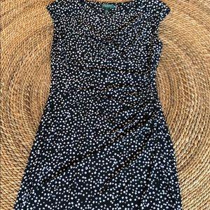 Flattering LAUREN Print Dress